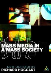 Cover of: Mass Media In A Mass Society