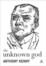 Cover of: The unknown God: agnostic essays