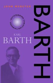 Cover of: Barth | Webster, J. B.