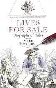 Cover of: Lives for sale |