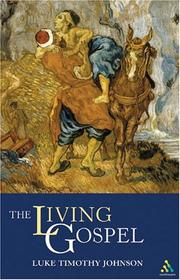 Cover of: The Living Gospel (Continuum Icons)