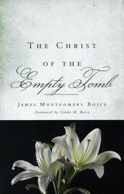 Cover of: The Christ of the Empty Tomb