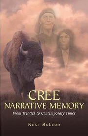 Cover of: Cree narrative memory