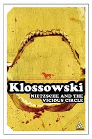 Cover of: Nietzsche and the Vicious Circle (Continuum Impacts)
