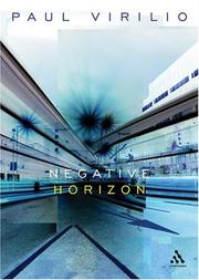 Cover of: Negative Horizon: An Essay in Dromoscopy