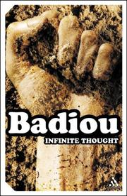 Cover of: Infinite Thought