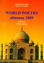 Cover of: WORLD POETRY ALMANAC 2009,  190 Poets from 100 Countries