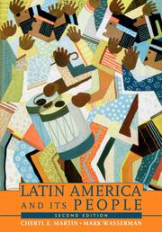 Cover of: Latin America and its people