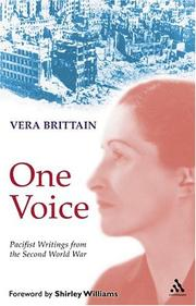 Cover of: One Voice