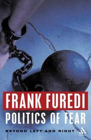 Cover of: Politics of Fear
