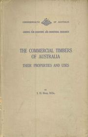 Cover of: The commercial timbers of Australia
