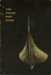 Cover of: Viking ship finds | Anders Hagen