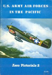 Cover of: U.S. Army Airforces in the Pacific