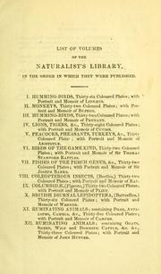 The natural history of dogs by Charles Hamilton Smith