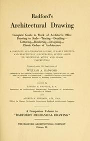 Radford's architectural drawing