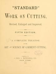 "Cover of: ""Standard"" work on cutting. 