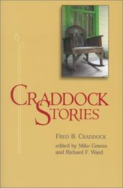 Cover of: Craddock Stories | Fred B. Craddock