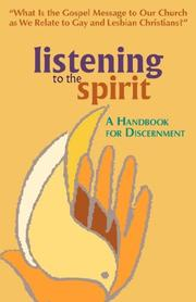 Cover of: Listening to the Spirit: A Handbook for Discernment | William O., Paulsell
