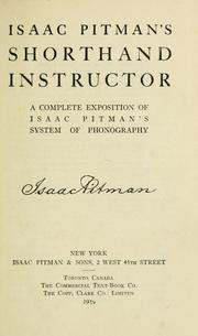 Isaac Pitman S Shorthand Instructor A Complete Exposition Of Isaac