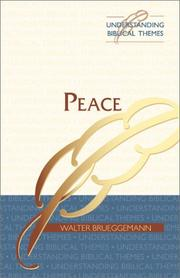 Cover of: Peace (Understanding Biblical Themes)