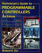 Technician's guide to programmable controllers by Cox, Richard A.