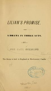 Cover of: Lilian