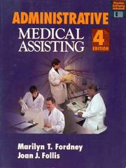 Administrative medical assisting by Marilyn Takahashi Fordney