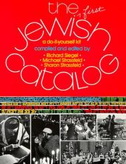 Cover of: The Jewish catalog: a do-it-yourself kit.