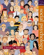 Cover of: Social psychology | David G. Myers