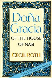 Cover of: Dona Gracia of the House of Nasi