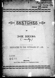 Cover of: Sketches | Pedro Dom