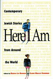 Cover of: Here I am by