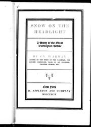 Cover of: Snow on the headlight |