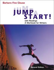 Cover of: Jumpstart with Readings: A Workbook for Writers