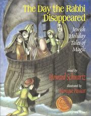 Cover of: The day the Rabbi disappeared | Schwartz, Howard