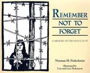 Cover of: Remember not to forget