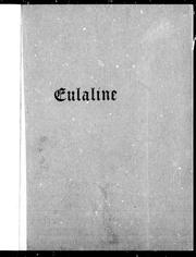 Cover of: Eulaline | John Stuart Thomson