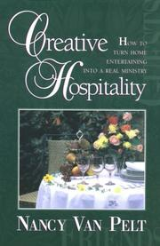 Cover of: Creative hospitality