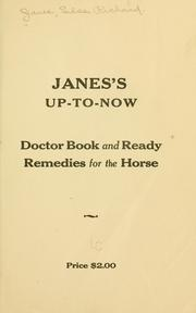 Cover of: Janes