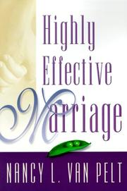 Cover of: Highly effective marriage