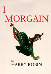 Cover of: I, Morgain | Harry Robin