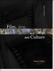 Cover of: Film, Form, & Culture with CD-ROM 1.03