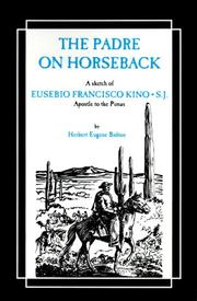 Cover of: Padre on Horseback (The American West)