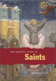 Cover of: The Seeker's Guide to Saints (Seeker Series (Chicago, Ill.).) | Mitch Finley