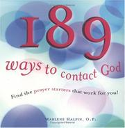 Cover of: 189 ways to contact God | Marlene Halpin