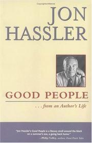 Cover of: Good people-- from an author's life