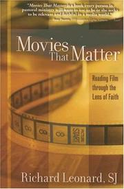 Cover of: Movies That Matter