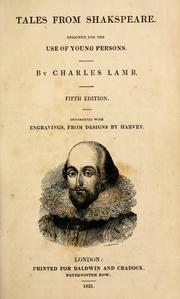 Cover of: Tales from Shakspeare