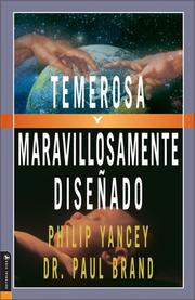 Cover of: Temerosa Y Maravillosamente Diseñado (Fearfully and Wonderfully Made)