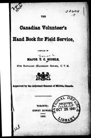 Cover of: The Canadian volunteer